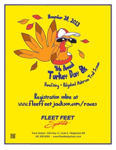 Turkey Day 8K @ Fleet Feet Sports