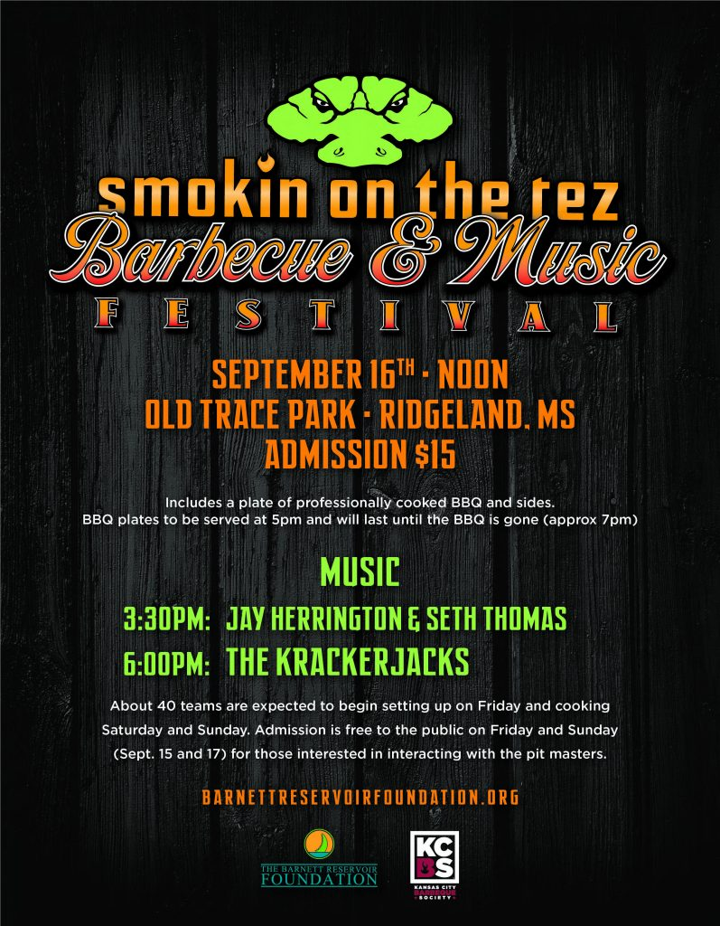Smokin' on the Rez Barbecue and Music Festival @ Old Trace Park   Ridgeland   Mississippi   United States
