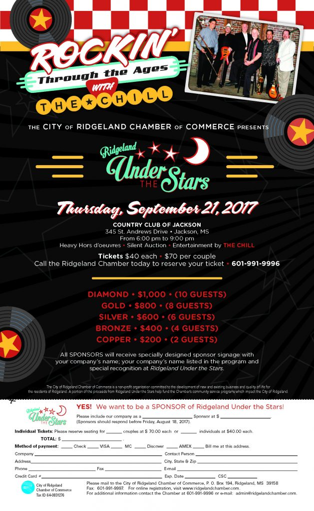 Ridgeland Under the Stars @ Country Club of Jackson   Jackson   Mississippi   United States