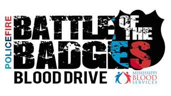 Battle of the Badges Blood Drive @ Ridgeland City Hall | Ridgeland | Mississippi | United States