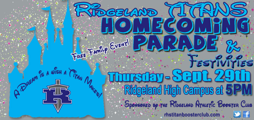 Ridgeland Titans Homecoming Parade @ Ridgeland High School | Ridgeland | Mississippi | United States