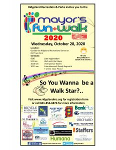 Mayor's Fun Walk @ Ridgeland Rec Center