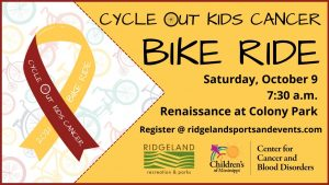 Cycle Out Kids Cancer Bike Ride @ Renaissance at Colony Park