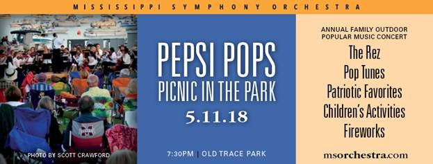 Pepsi Pops @ Old Trace Park   Ridgeland   Mississippi   United States